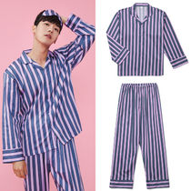 Stripes Unisex Cotton Lounge & Sleepwear