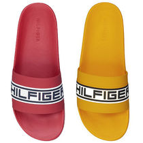Tommy Hilfiger Street Style Plain Shower Shoes Shower Sandals