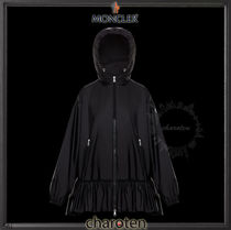 MONCLER Casual Style Street Style Plain Medium Coats