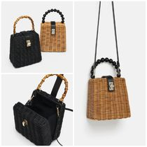 ZARA 2WAY Straw Bags