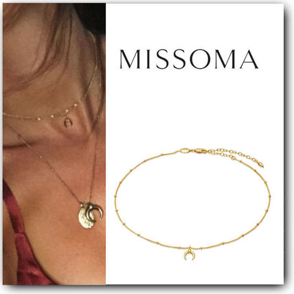 Casual Style Unisex Street Style 18K Gold