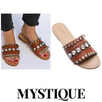 Mystique Casual Style Leather Sandals Sandal