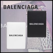 BALENCIAGA EVERYDAY TOTE Unisex Blended Fabrics Passport Cases