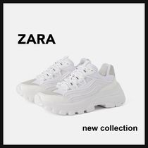ZARA Casual Style Low-Top Sneakers