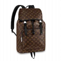 Louis Vuitton MONOGRAM MACASSAR Zack Backpack
