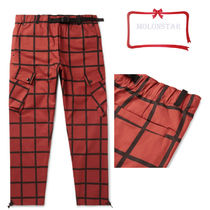 Nike Other Check Patterns Cotton Cargo Pants