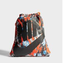 Nike Flower Patterns Unisex Street Style Backpacks