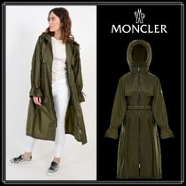 MONCLER WASHINGTON Casual Style Nylon Plain Long Coats