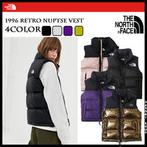 THE NORTH FACE Nuptse Unisex Street Style Down Jackets