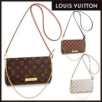 Louis Vuitton Other Check Patterns Monogram Casual Style 2WAY Chain