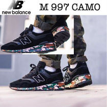 New Balance Camouflage Casual Style Unisex Street Style Low-Top Sneakers