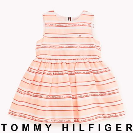 Tommy Hilfiger 2019 SS Street Style Baby Girl Dresses & Rompers (KN0KN00965)