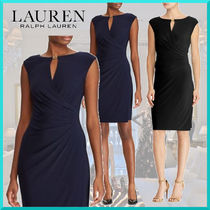 Ralph Lauren Tight Plain Medium Elegant Style Dresses