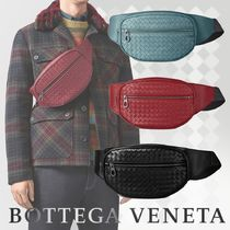 BOTTEGA VENETA Unisex Calfskin 2WAY Plain Hip Packs