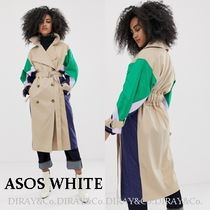 ASOS Casual Style Street Style Plain Long Trench Coats