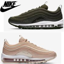Nike AIR MAX 97 Casual Style Unisex Street Style Leather Low-Top Sneakers