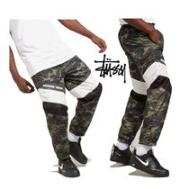 STUSSY Tapered Pants Street Style Tapered Pants