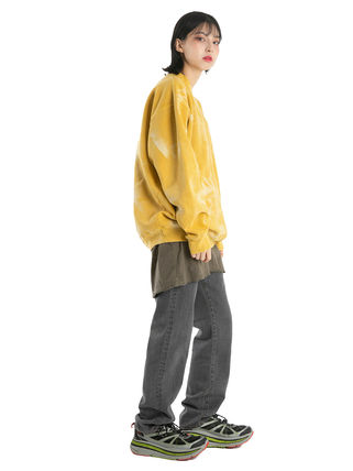 Tanks Unisex Street Style Plain Cotton Oversized Tanks 9