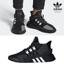 adidas Rubber Sole Casual Style Unisex Faux Fur Blended Fabrics