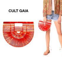 CULT GAIA Casual Style Vanity Bags Clutches