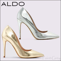 ALDO [ALDO] Metalic Patent Stiletto Heel Pumps - Stessy