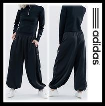 adidas Stripes Casual Style Sweat Blended Fabrics Street Style