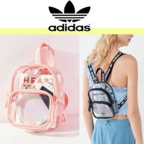 adidas Casual Style Street Style Crystal Clear Bags Backpacks 9a72d39b588f8