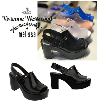 Casual Style Collaboration PVC Clothing Sandals
