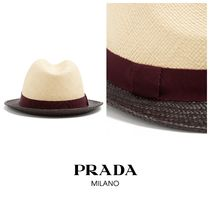 PRADA Straw Hats