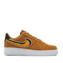 Nike AIR FORCE 1 Suede Blended Fabrics Street Style Sneakers