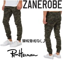 Ron Herman Camouflage Street Style Joggers & Sweatpants