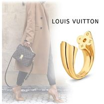 Louis Vuitton 2019SS BERG FAST FLOWER gold S-L Rings