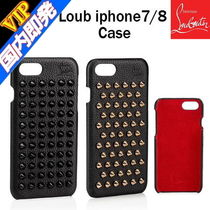 Christian Louboutin Unisex Studded Bi-color Leather Smart Phone Cases