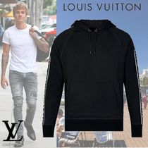 Louis Vuitton Pullovers Long Sleeves Cotton Hoodies