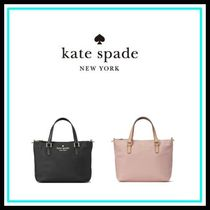 kate spade new york Casual Style Leather Home Party Ideas Shoulder Bags