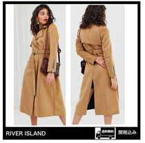 River Island Suede Trench Coats