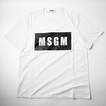 MSGM More T-Shirts Crew Neck Street Style Short Sleeves T-Shirts 3