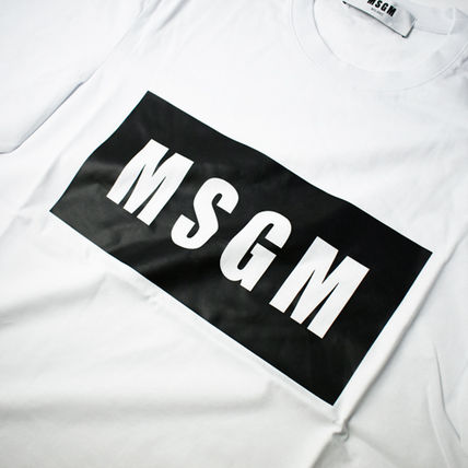 MSGM More T-Shirts Crew Neck Street Style Short Sleeves T-Shirts 4