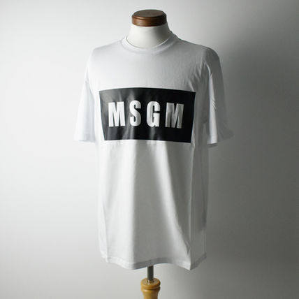 MSGM More T-Shirts Crew Neck Street Style Short Sleeves T-Shirts