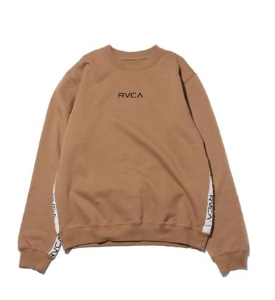 RVCA More Tops Street Style Collaboration Long Sleeves Tops 2