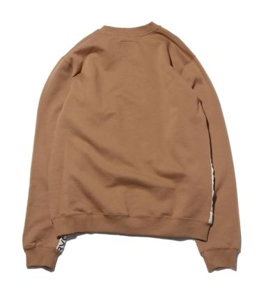 RVCA More Tops Street Style Collaboration Long Sleeves Tops 3