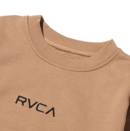 RVCA More Tops Street Style Collaboration Long Sleeves Tops 4