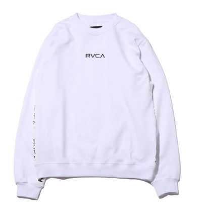 RVCA More Tops Street Style Collaboration Long Sleeves Tops 8