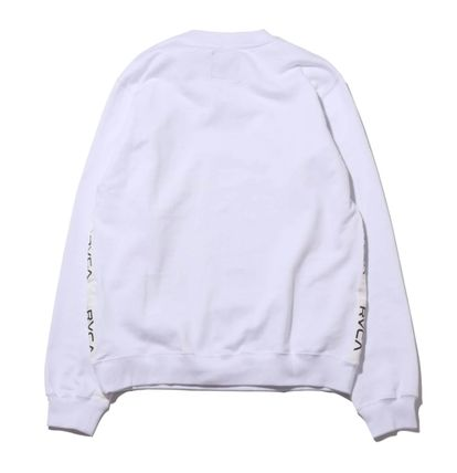 RVCA More Tops Street Style Collaboration Long Sleeves Tops 9