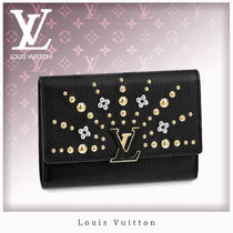 Louis Vuitton CAPUCINES Leather Folding Wallets