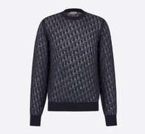 DIOR HOMME Wool Long Sleeves Knits & Sweaters