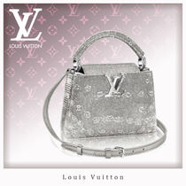 Louis Vuitton CAPUCINES 2WAY Other Animal Patterns Leather Elegant Style Handbags