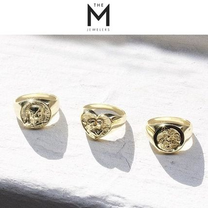 Casual Style Unisex Silver Rings