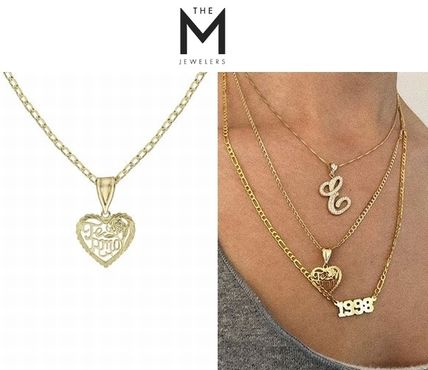 Costume Jewelry Casual Style 14K Gold Necklaces & Pendants