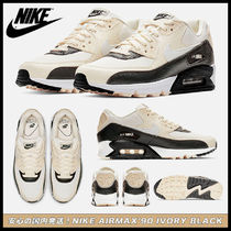 Nike AIR MAX 90 Flower Patterns Casual Style Street Style Low-Top Sneakers